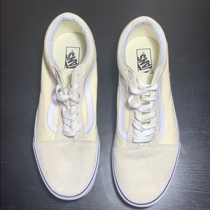 Vans shoes|Vans old skool gum block classic white
